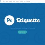 PS Etiquette – Um guia para web design diferenciado utilizando o Photoshop