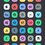 45 ícones Subtle Social Media
