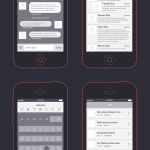Download Kit Wireframes para seus App's