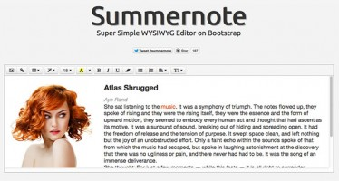 Summernote-Super-Simple-jQuery-WYSIWYG-Editor-on-Bootstrap